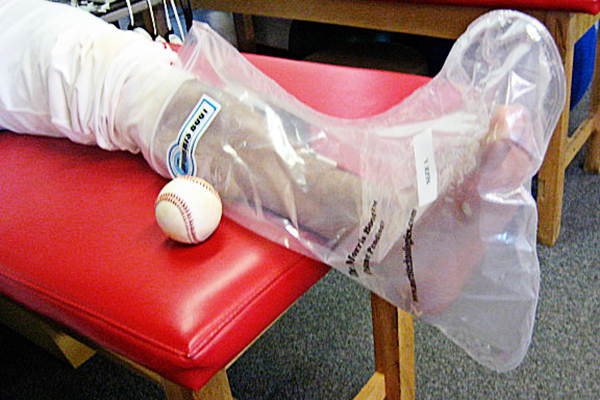 Baseball Recovery Solution Ankle Foot Ice Pack